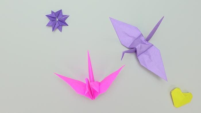 の 折り 方 鶴