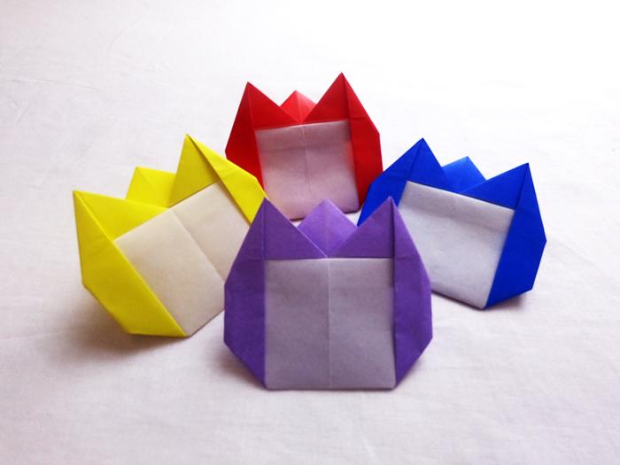 可愛い 花 折り紙