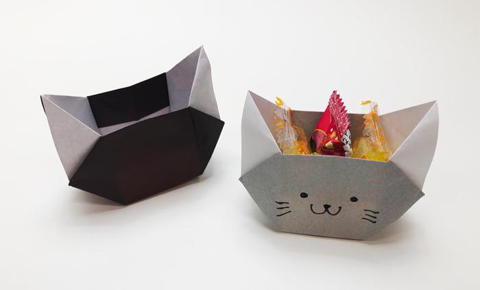 箱 簡単 折り紙