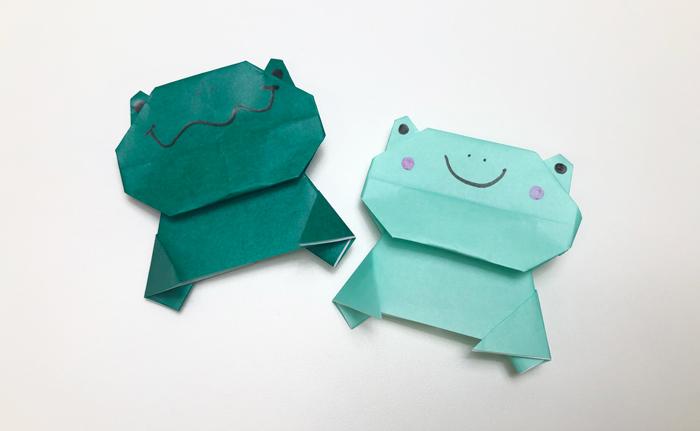 折り 方 折り紙 カエル の