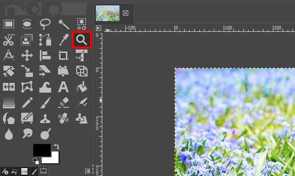 GIMP – 画像の表示倍率を拡大/縮小する方法【ズームツール ...